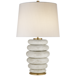 Lampa stołowa Kelly Wearstler Stacked Phoebe